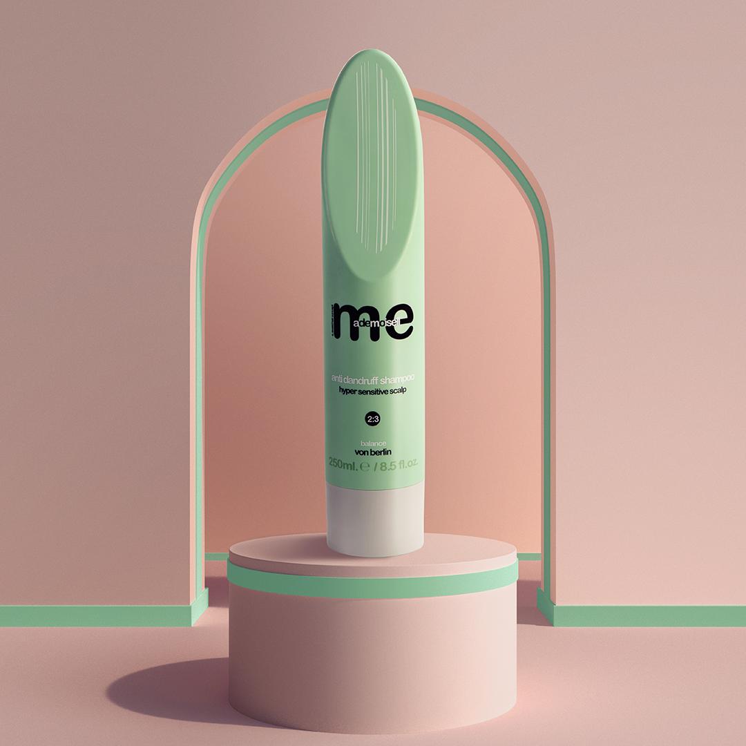 me mademoiselle - anti dandruff shampoo 2:3